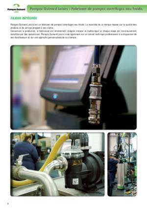 Guinard hydromatic : Catalogue 2013 Pompes Guinard Loisirs