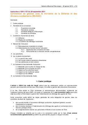 Attestation 2012 : BULLETIN OFFICIEL DE POLE EMPLOI