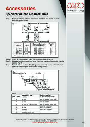 175 70 r13 : AL-KO wheel carrier (Page 1) Swift Owners Club