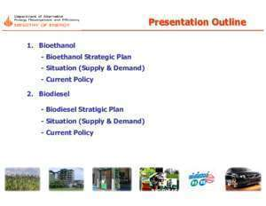 Ayutthaya : Biofuel Situation Present Food and Agriculture Organization