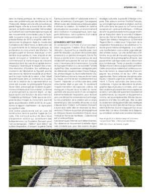 Download the pdf of the article - Galerie Cécile Fakhoury