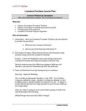 1803 1877 : Louisiana Purchase Lesson Plan Home | Stanford
