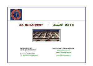 45 annee 1997 : CA CHAMBERY Année 2016