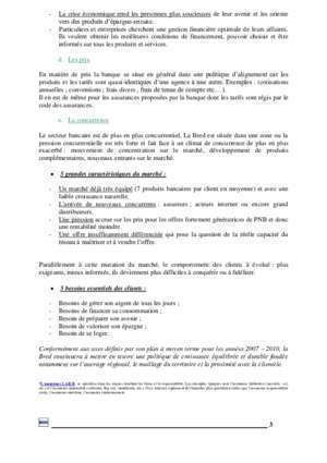 Annexe 23 pduc : ANALYSE DE L UNITE COMMERCIALE Dimension-BTS