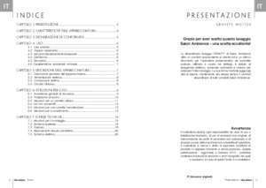 Manuale estetista : Manuale operativo (ITALIANO) P 2 operation manual (ENGLISH) P