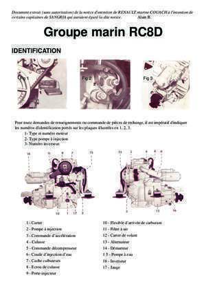 Amorcage pompe injection : Alain B Groupe marin RC8D sangriaquilamis org
