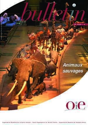 From bulletin : Bulletin OIE 2008 No 3 Animaux sauvages