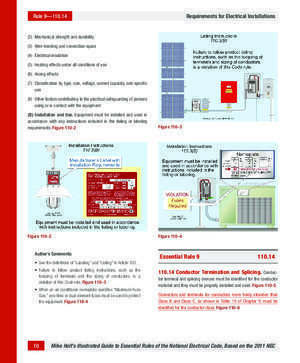 110 12 : 110 RC Requirements for Electrical Installations