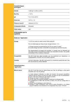 Be5 : Sika® BE 5