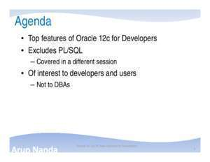 15 sequences ret : Oracle 12c Top 20 New Features for Developers