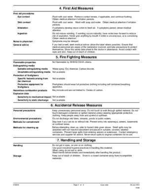 MATERIAL SAFETY DATA SHEET 1. Product and Company