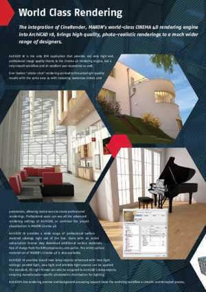 Aide archicad 16 : ArchiCAD 18 Brochure Graphisoft