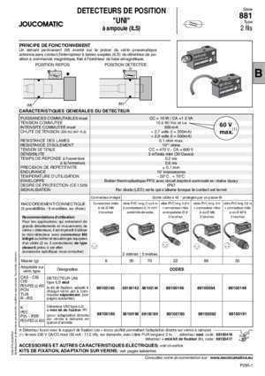 88100140 : Telecharger la fiche technique