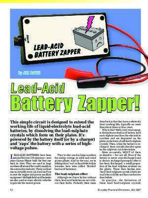 270kw : LEAD-ACID BATTERY ZAPPER IK4HDQ