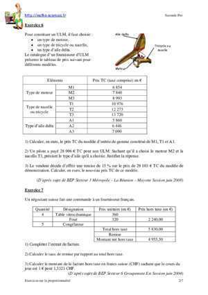 Correction cap maths secteur 2 guadeloupe martinique session 2006 : EX ERRCCIICCESS OSSUURR LLLAA