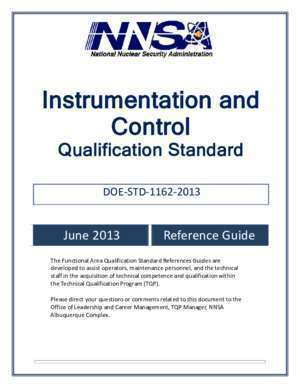 Instrumentation and Control - Department of Energy