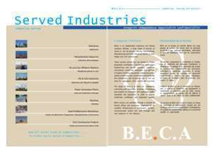 Beca : BECA for Inspection, Testing and Analysis