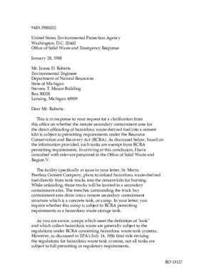 25441 : United States Environmental Protection Agency Office of