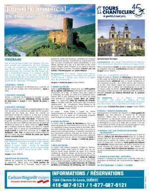 5393 : Danube musical Voyages Inter-Pays