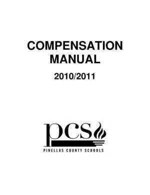 40664 : COMPENSATION MANUAL Pinellas County Schools