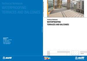 Technical Notebook WATERPROOFING TERRACES AND - Mapei