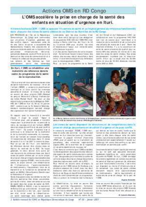 Acces par cod : !!OMS Bulletin No 05 Janvier 2007 who int