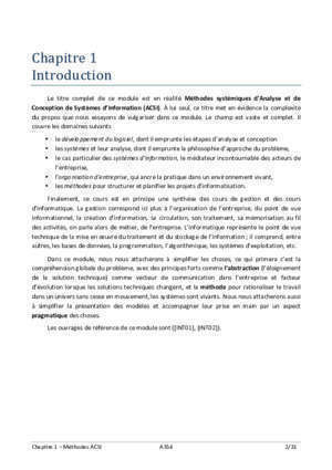 Methodes analyse systeme informatique exemples : Méthodes systémiques d analyse et de conception (A354)