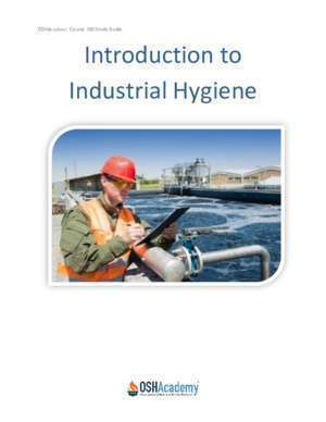 750 dr : Course 750 Introduction to Industrial Hygiene