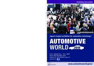 Adacore : AUTOMOTIVE WORLD 2016 will have