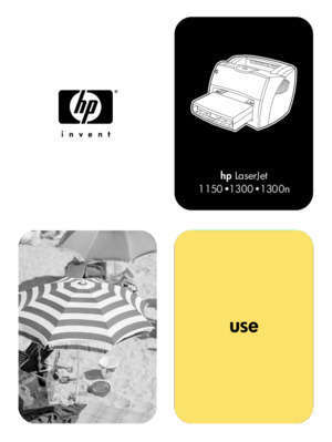 1150 1300 : HP LaserJet 1150 and 1300 series printer user guide ENWW