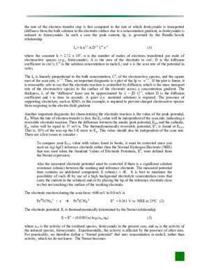 Voltammetry instrument : Experiments in Analytical EElectrochemistry asdlib org