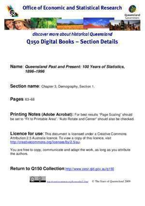 1843 1896 : Discover more about historical Queenslanddiscover more