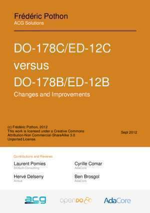 178b : DO-178C ED-12C versus DO-178B ED-12B AdaCore
