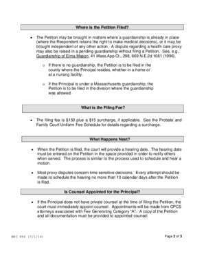 The Probate and Family Court Department Procedure