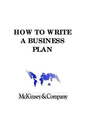 Anglais new enjoy : HOW TO WRITE A BUSINESS PLAN Higher School of