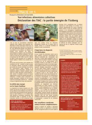 Toxi-infections alimentaires collectives - InVS