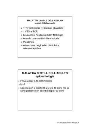 Artrocentesi : MALATTIA DI STILL DELL ADULTO sunhope it