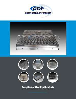 4017 02 : Suppliers of Quality Products Grate Drainage Products