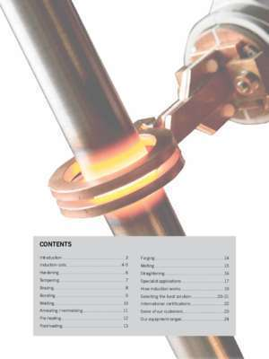 Induction heating EFD - 201039- 005/15 - ENG applications