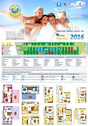 Camping Village Del Sole Price List - Camping.it