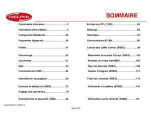 Antidemarage megane : Guide d utilisation du DS150E Delphi Europe Service