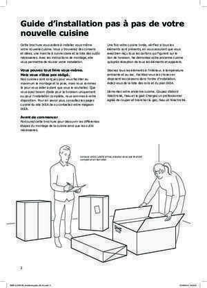 cuisine ikea notices et pdf gratuits. Black Bedroom Furniture Sets. Home Design Ideas