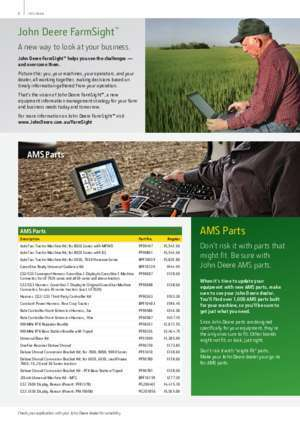 2013 Tractor Parts Catalogue - Australia