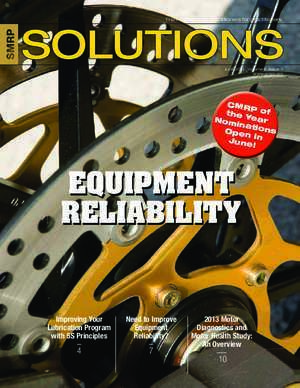 Articles e learnin : EQUIPMENT RELIABILITY SMRP