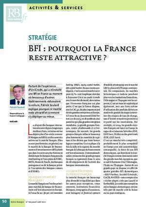Bfi : BFI pourquoi la France reste attractive