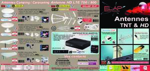 8 fiches video : Antennes Camping Caravaning Antenne HD LTE 700