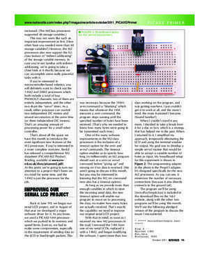 PICAXE - Nuts and Volts Magazine