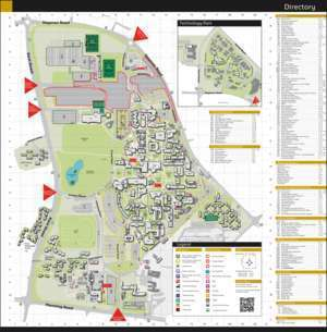 Arich : Curtin Bently Campus Map-sept16