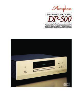 DP-500 - Accuphase