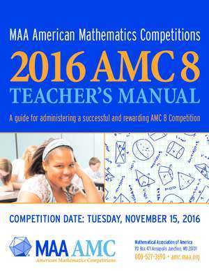 MAA American Mathematics Competitions 2016 AMC 8